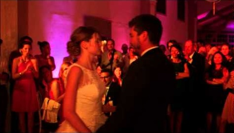 Ouverture de bal de mariage sur Blurred Lines