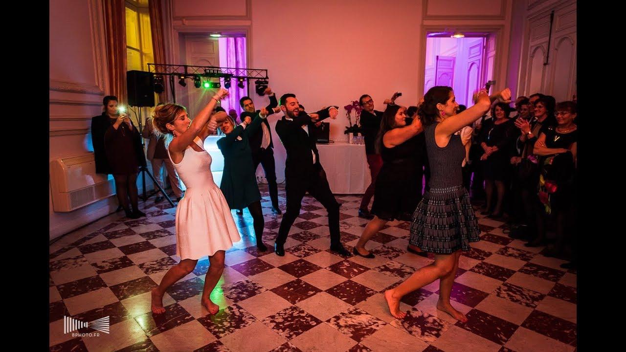 Ouverture de bal de mariage avec FLASHMOB – Marion et Jessica
