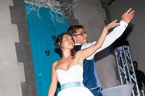 Ouverture de bal de mariage avec salsa et hip hop