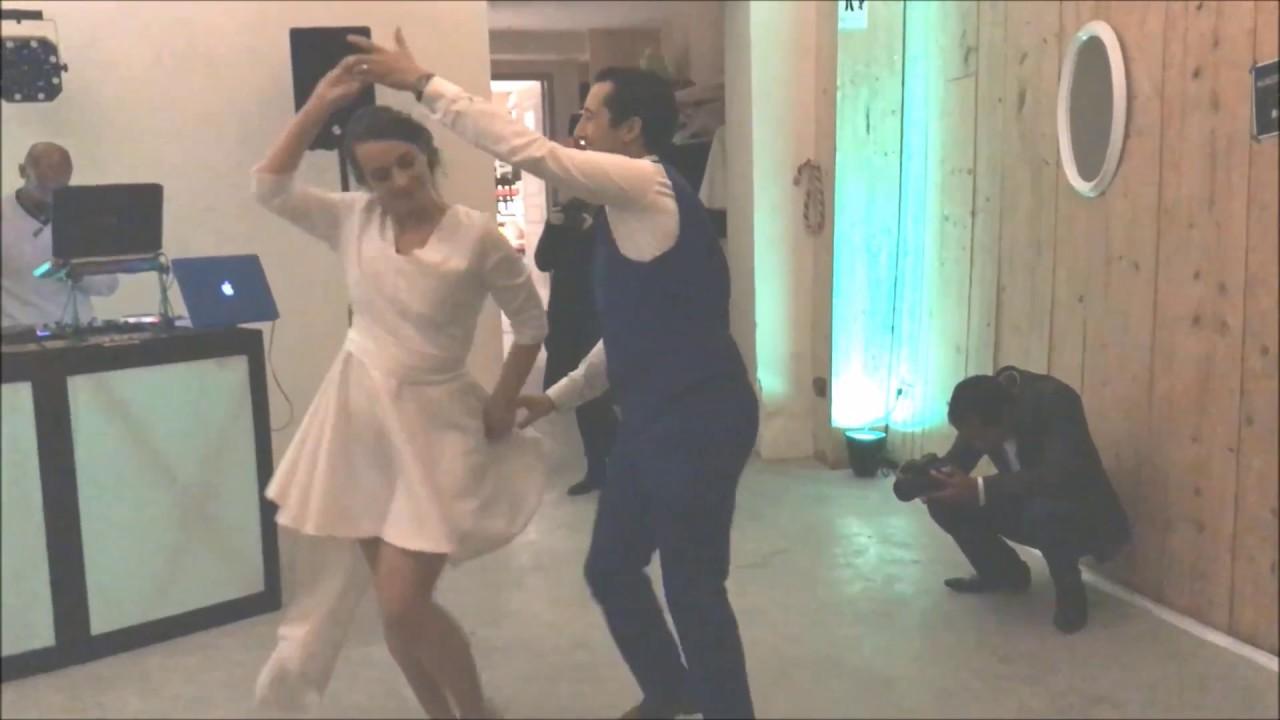 Ouverture de bal de mariage SALSA, SWING et flashmob invités