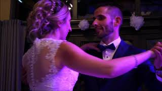 La magnifique ouverture de bal de Laura et Cyril – You are the reason