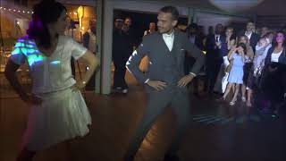Ouverture de bal swing rock flashmob – Just a gigolo (Louis Prima)