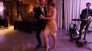 Ouverture de bal de mariage exceptionnelle sur le thème des années follles