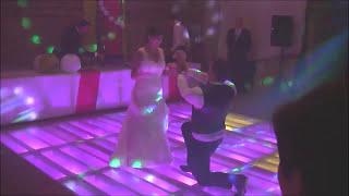Ouverture de bal de mariage jazzy avec mise en scène – I love her so (Ray Charles)
