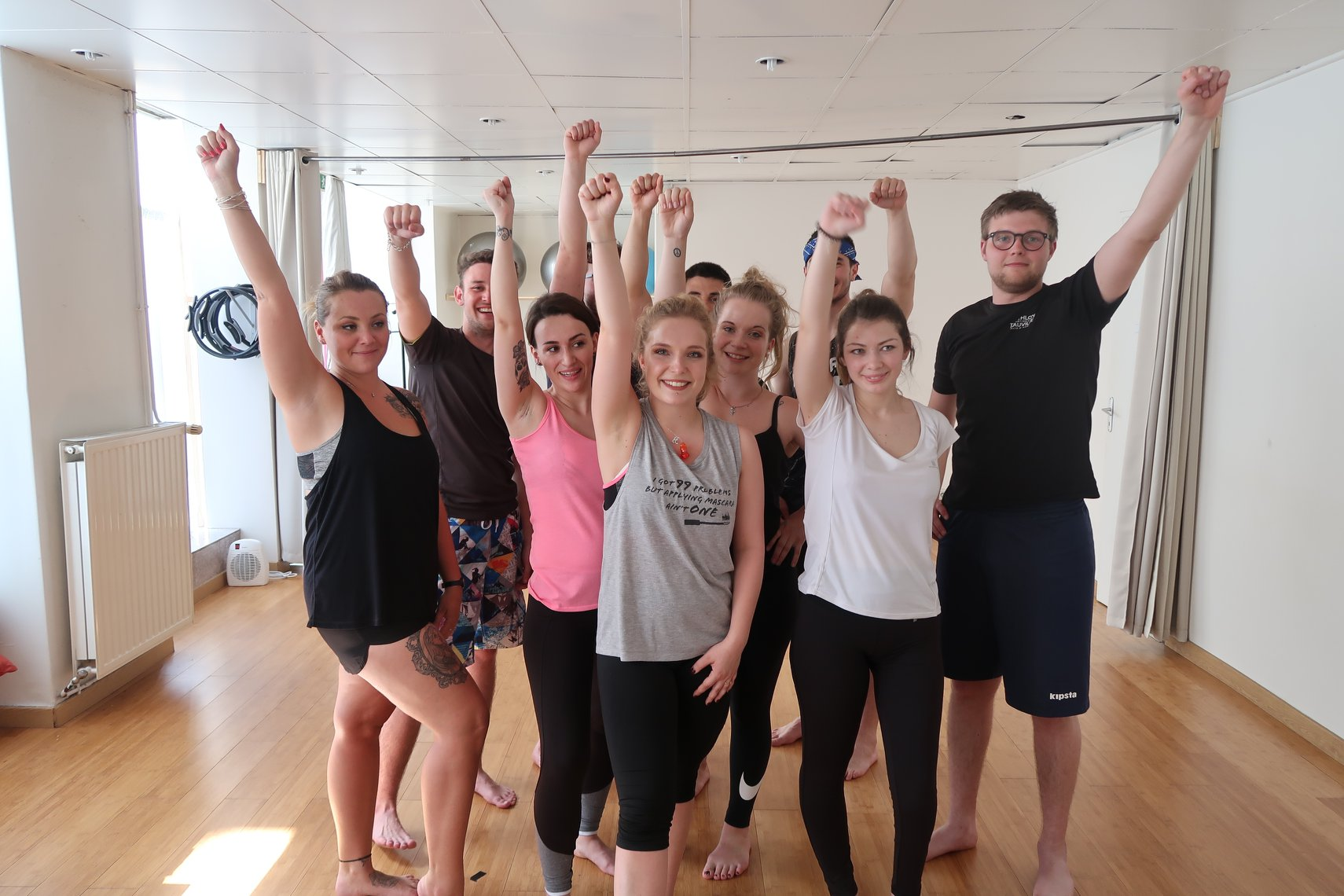 Cours de danse EVJF / EVG – Chorégraphie de groupe